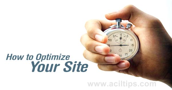 Cara Mempercepat Loading Blog Website Hingga 70% - www.aciltips.com