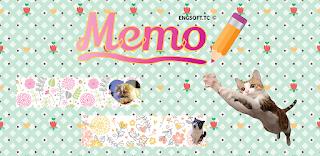 https://play.google.com/store/apps/details?id=tc.engsoft.catmemo_lite