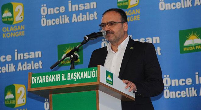 HÜDA PAR Diyarbakır İl Teşkilatı 2. Olağan Kongresi yapıldı