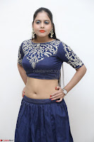 Ruchi Pandey in Blue Embrodiery Choli ghagra at Idem Deyyam music launch ~ Celebrities Exclusive Galleries 019.JPG