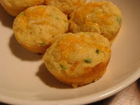 Cheddar and Green Onion Muffins