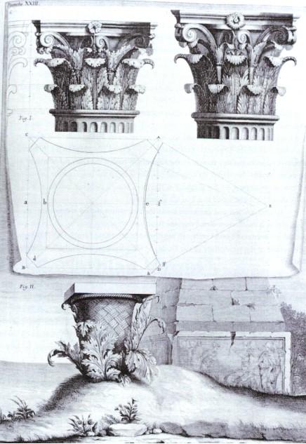 Korinthisches Säulenkapitell