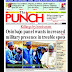 NIGERIA NEWSPAPERS: TODAY'S THE PUNCH NEWSPAPER HEADLINES [29 JANUARY, 2018].