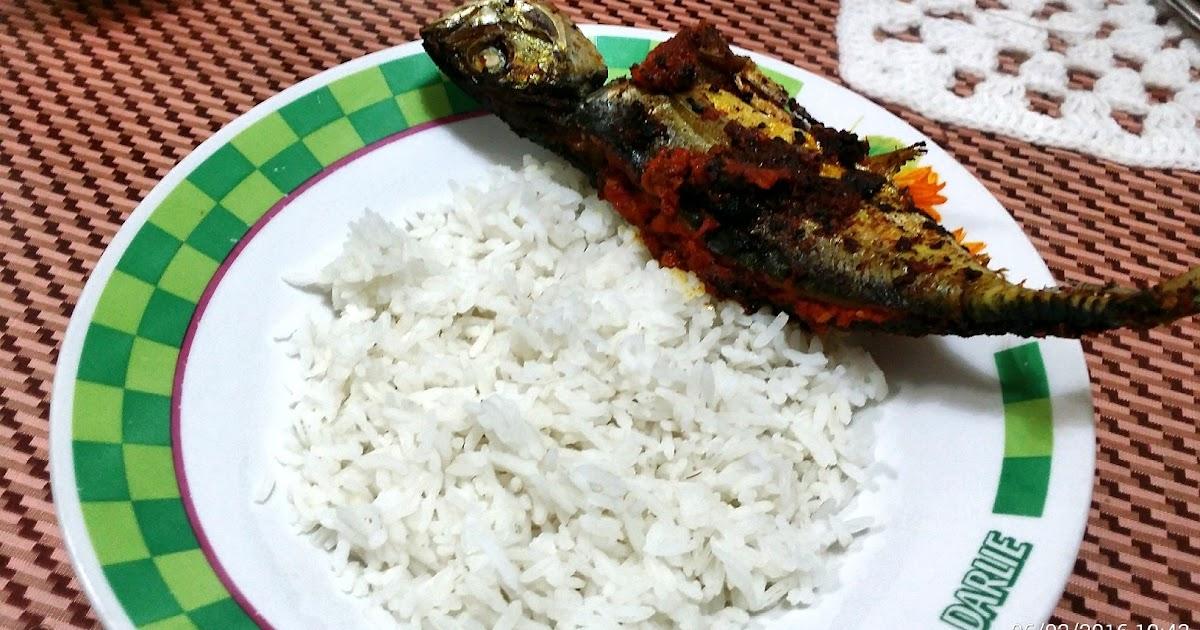 Foodie Camera: Ikan Panggang Sambal (Sambal Pan Grilled Fish)