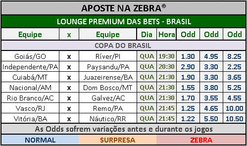 LOTECA 699 - LOUNGE PREMIUM COPA DO BRASIL 01