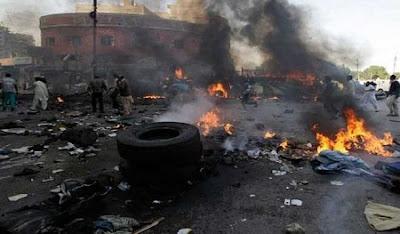 Many People Killed as Multiple Bomb Blast Rocks Popular Motor Park in Adamawa State