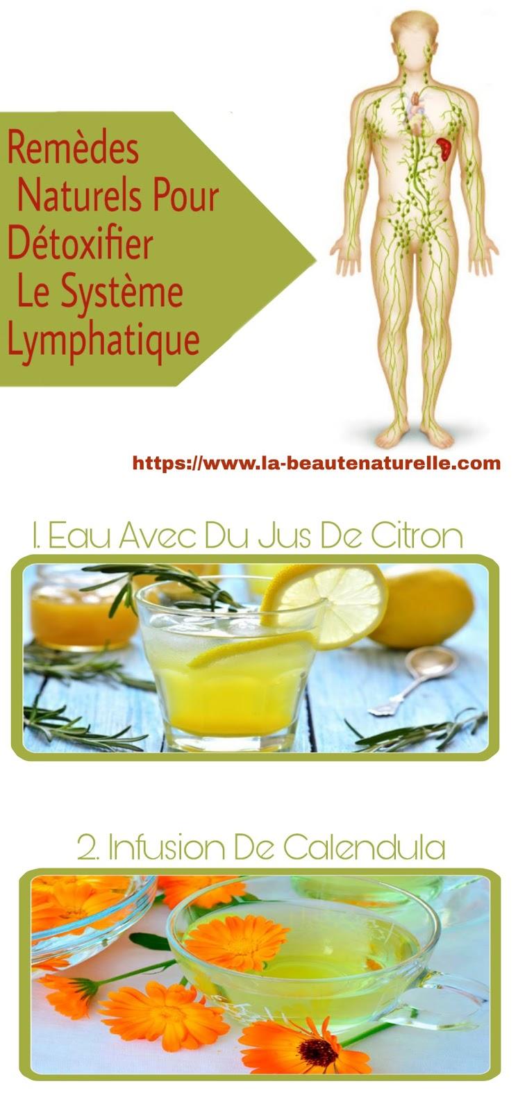 Remèdes Naturels Pour Détoxifier Le Système Lymphatique