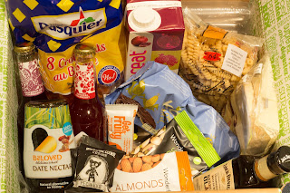The contents of May's degustabox as described above