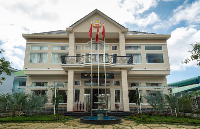 Khách sạn Sao Vàng một trong những điểm dừng chân thú vị trong danh sách khách sạn ở Bảo Lộc