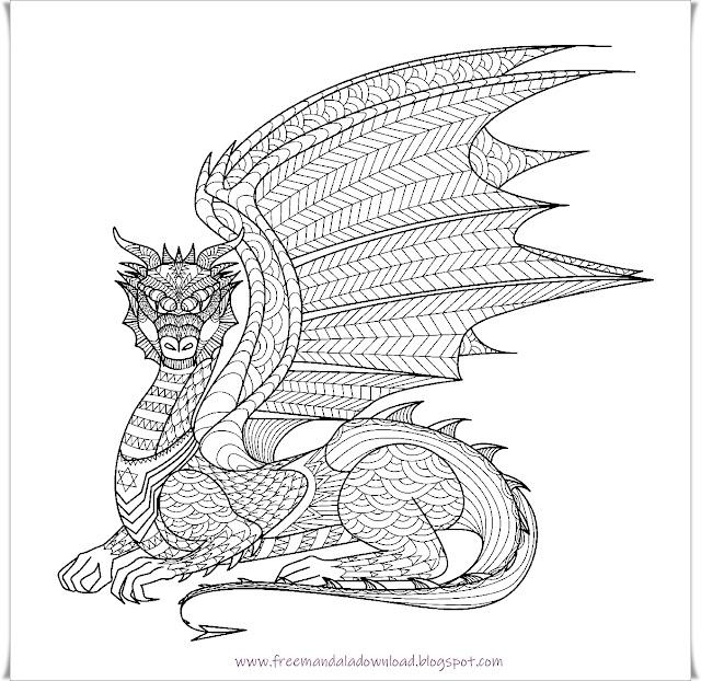 zeichnung zentangle mandala kostenloser download  free