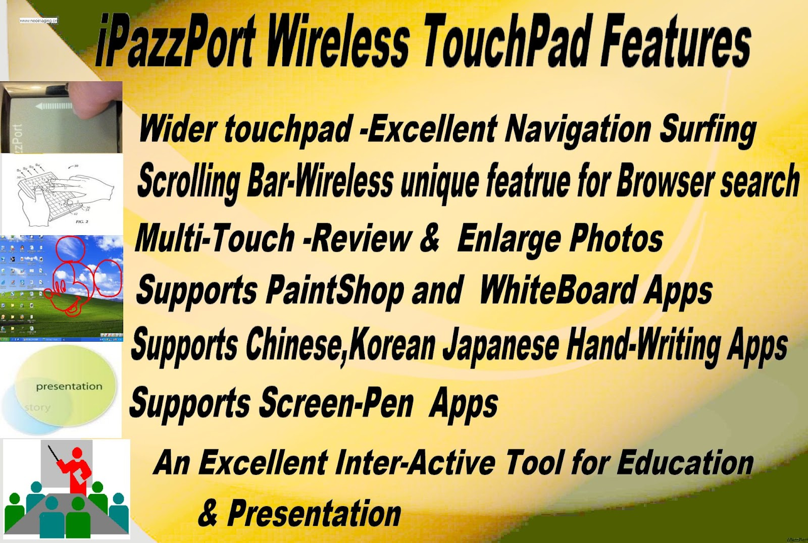iPazzPort Smart tv/Android HTPC/IPTV Box with a Mini