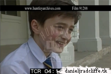 Video from 2000: A Young Daniel Radcliffe about The Tailor of Panama