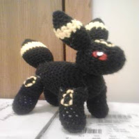 PATRON GRATIS UMBREON POKEMON AMIGURUMI 30729