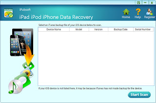 iPubsoft iPad iPhone iPod Data Recovery Portable