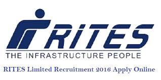 RITES 2016 Recruitment