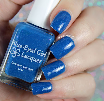 Blue-Eyed Girl Lacquer Chasing the Skyline