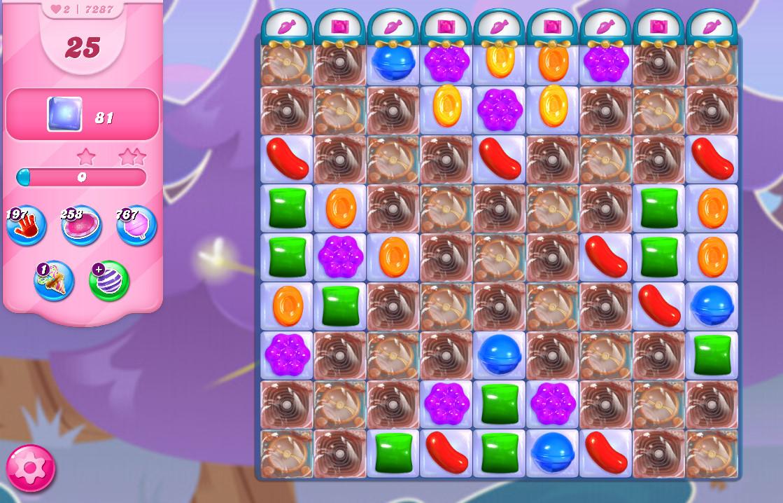Candy Crush Saga level 7287
