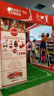 A whole pavilion for Coca Cola at NTUC Xtra, Jurong Point. Taken 3 June.
