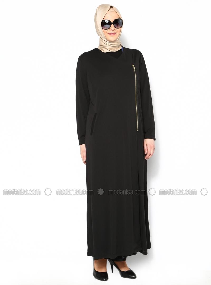 Baju Gamis Ibu Gemuk Hijab Nemo