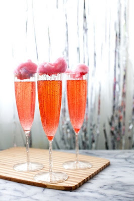 Cotton Candy Cocktail Drink Recipe