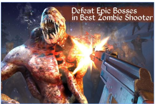 Game Shooter Offline Zombie Call Mod Apk