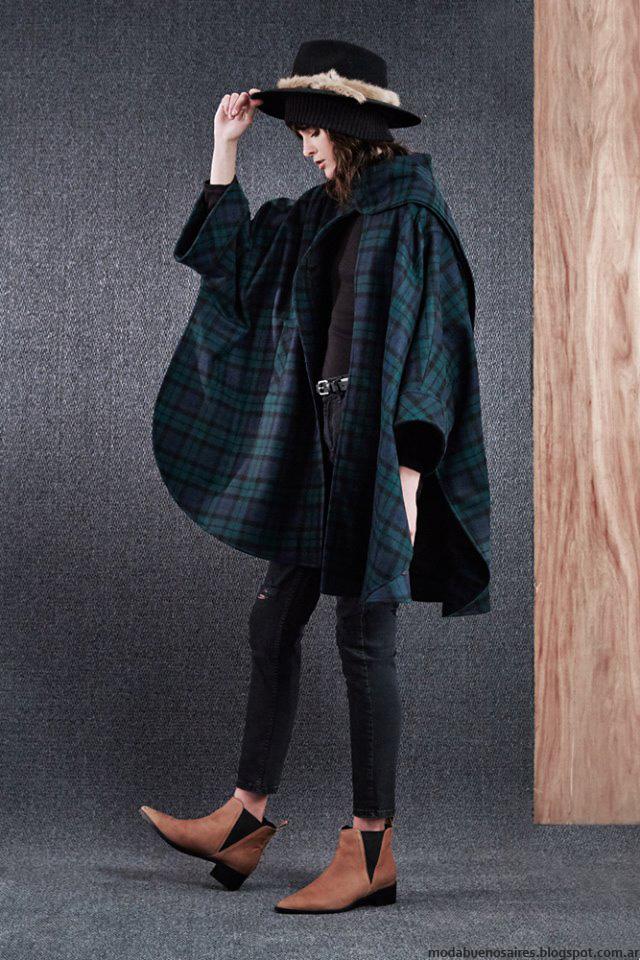 Capas invierno 2016 Paula Cahen D'Anvers. Moda 2016 ropa de mujer.