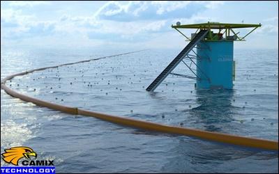Khắc phục đạt tiêu chuẩn hệ thống xử lý nước thải - Dọn rác đại dương bằng hàng rào cao su