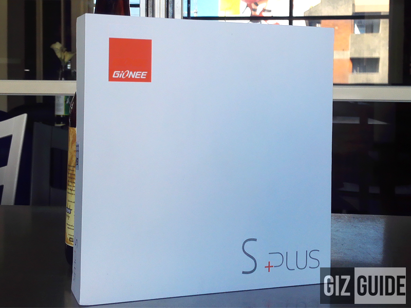 Gionee Elife S Plus Unboxing