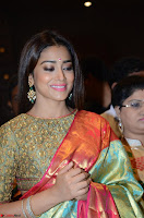 Shriya Saran Looks Stunning in Silk Saree at VRK Silk Showroom Launch Secundrabad ~  Exclusive 174.JPG