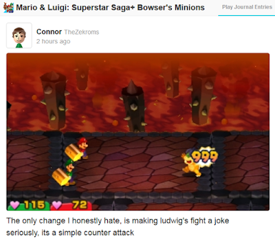 Mario & Luigi: Superstar Saga + Bowser's Minions Ludwig Von Koopa's boss fight Bowser's Castle counterattack Koopalings changed