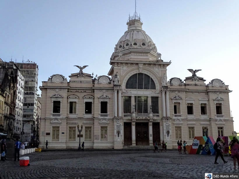 O que fazer no Pelourinho, Salvador (Bahia) - Palácio Rio Branco