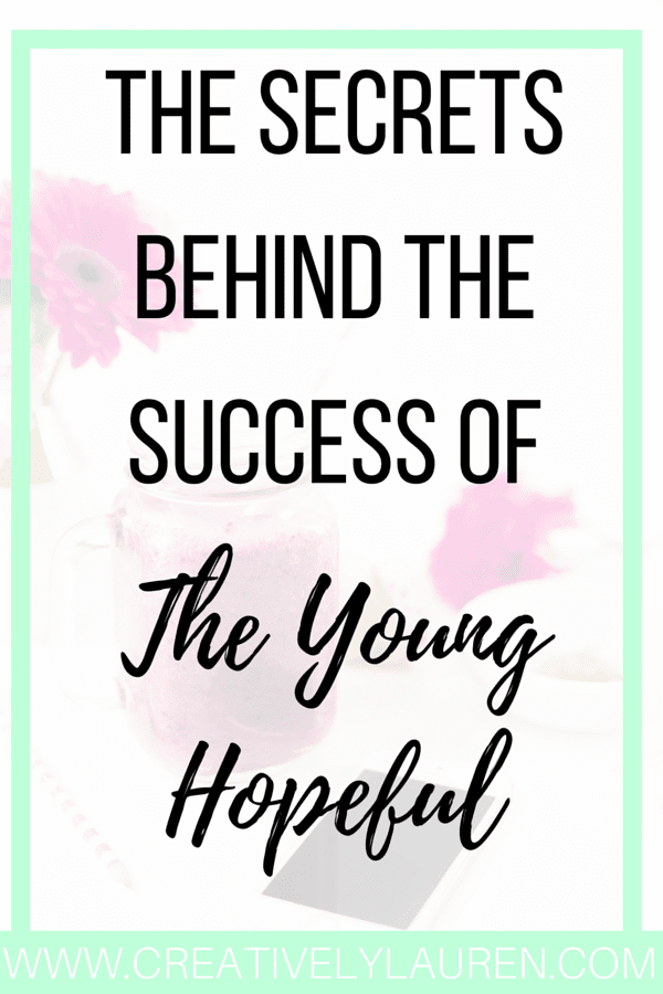 The Secrets Behind The Success of The Young Hopeful