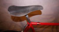 Lädersadel / Leather sadle