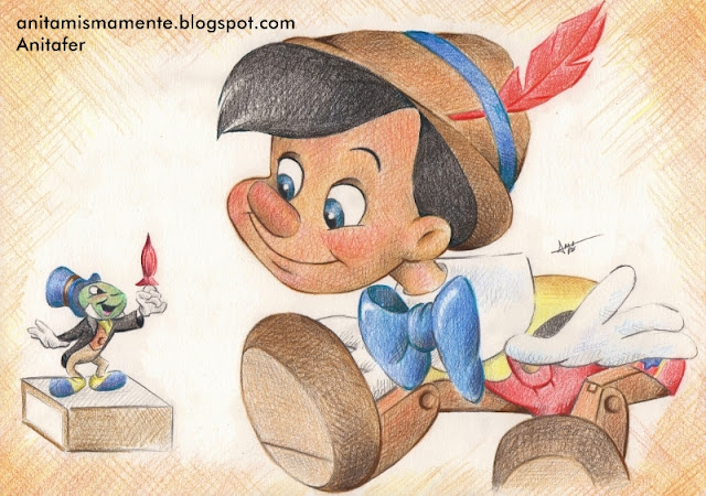 Dibujos En Color De Disney: Anitafer_Artist: Serie De Dibujos Disney