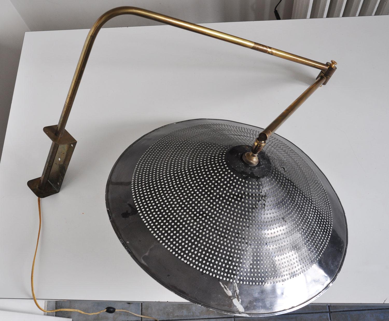tr s grande lampe potence 1950 l 39 amateur eclair. Black Bedroom Furniture Sets. Home Design Ideas