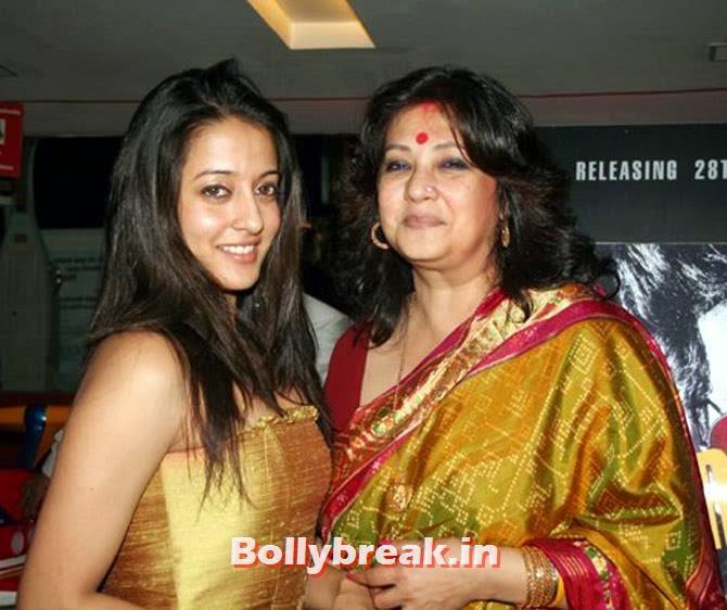 Moon Moon Sen (left) with her daughter Raima Sen, Sports & Bollywood celebrities Standing in Lok Sabha Elections 2014
