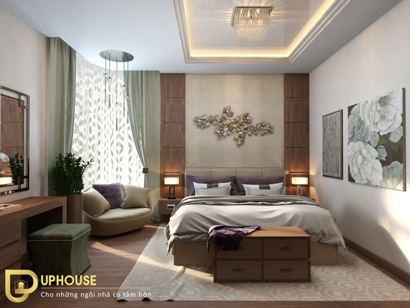 Phòng ngủ tân cổ điển 06
