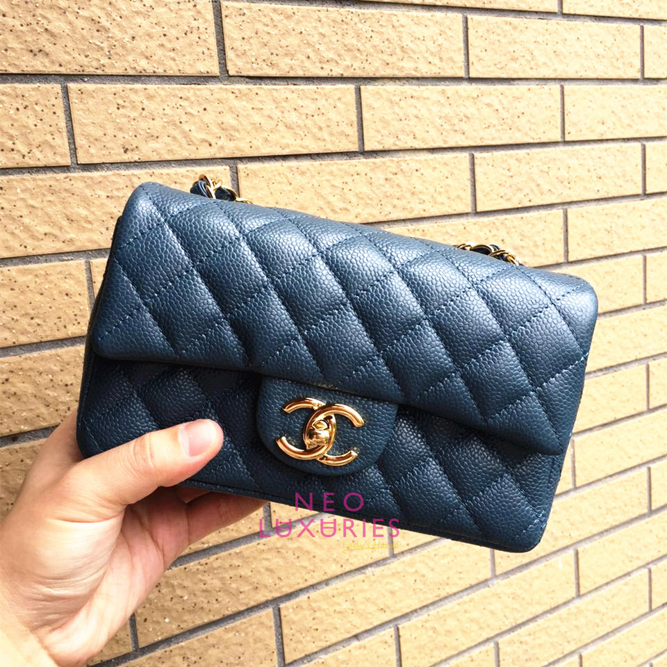 bce34f811dee Neo LUXuries: CHANEL Classic Flap New Mini (20cm) - A69900