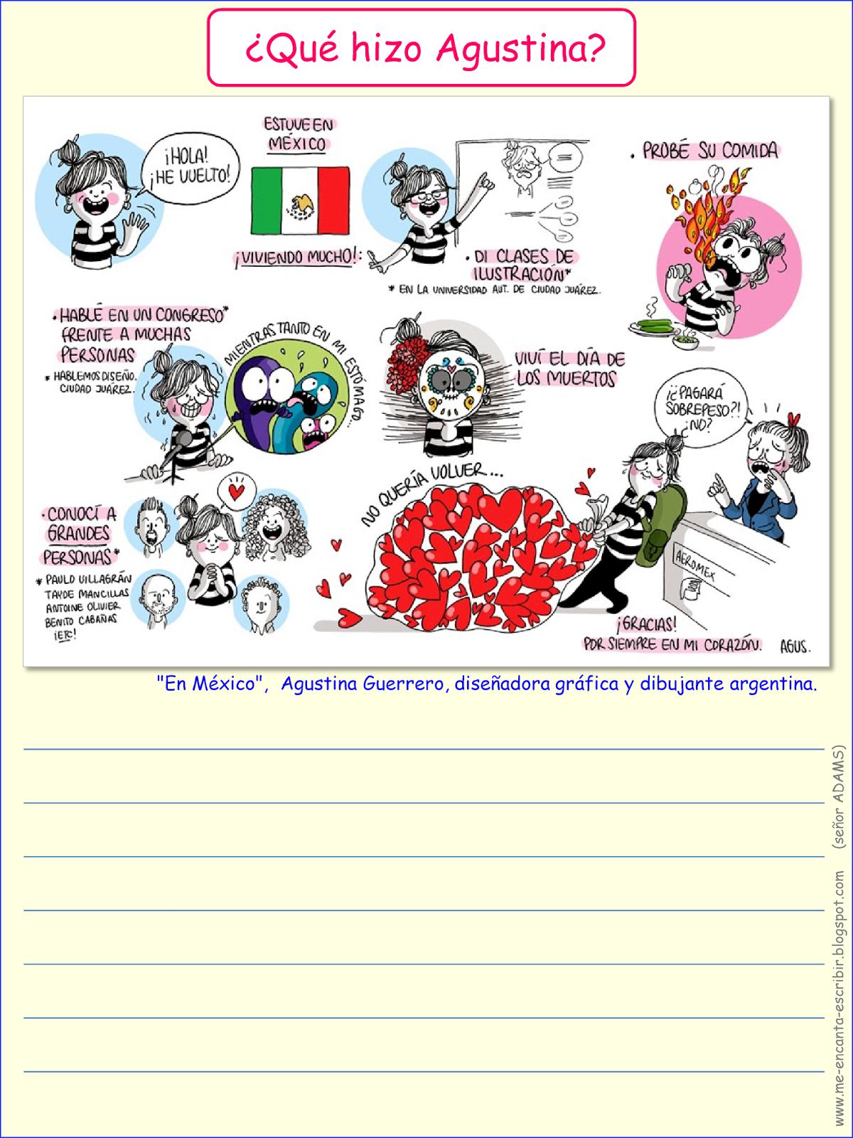 Me Encanta Escribir En Espanol En Mexico Que Hizo