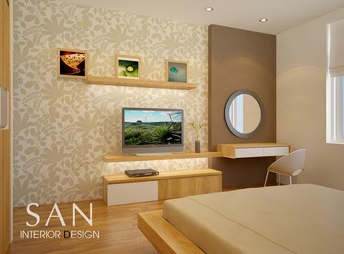 Home Decoration Design: Small Bedroom Interior Design