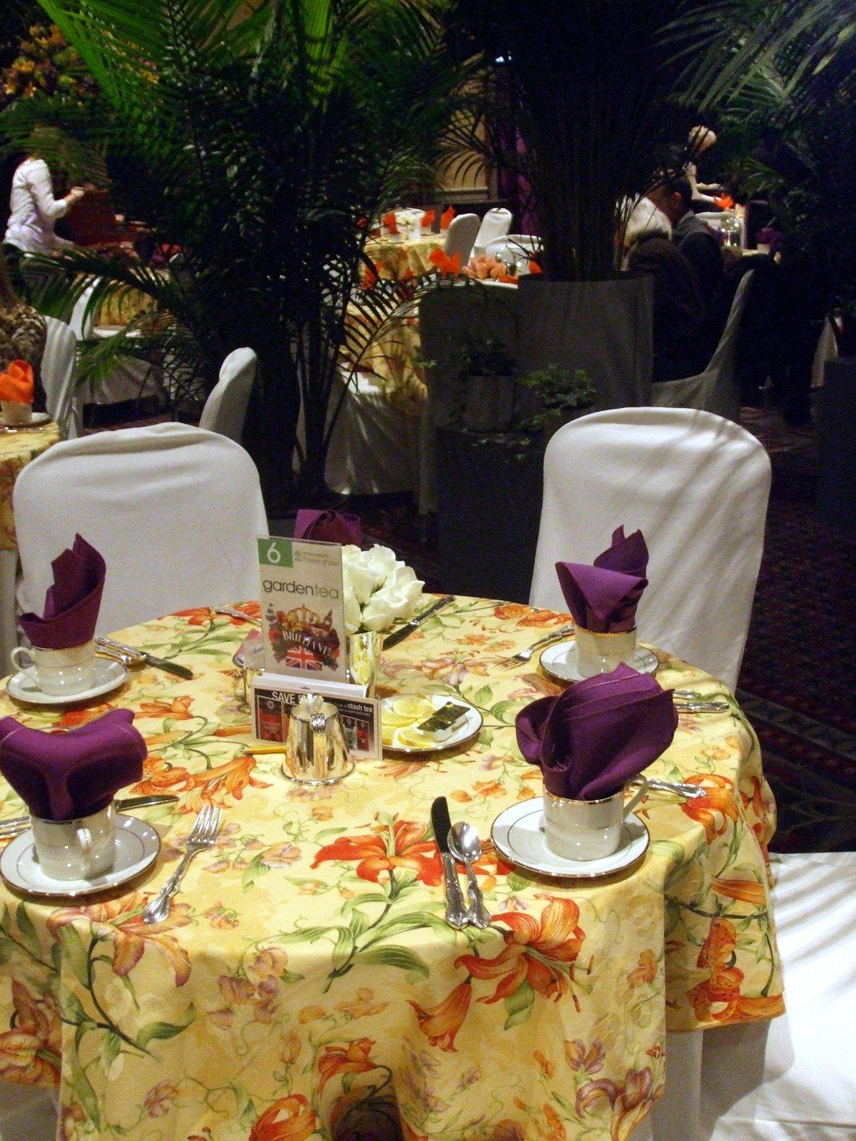 Philadelphia Flower Show Tea Room