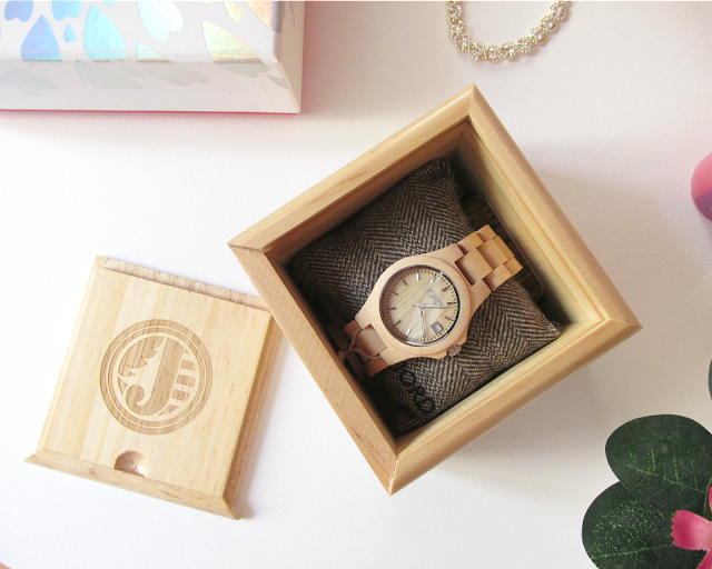 Sarah Anne JORD wood watches