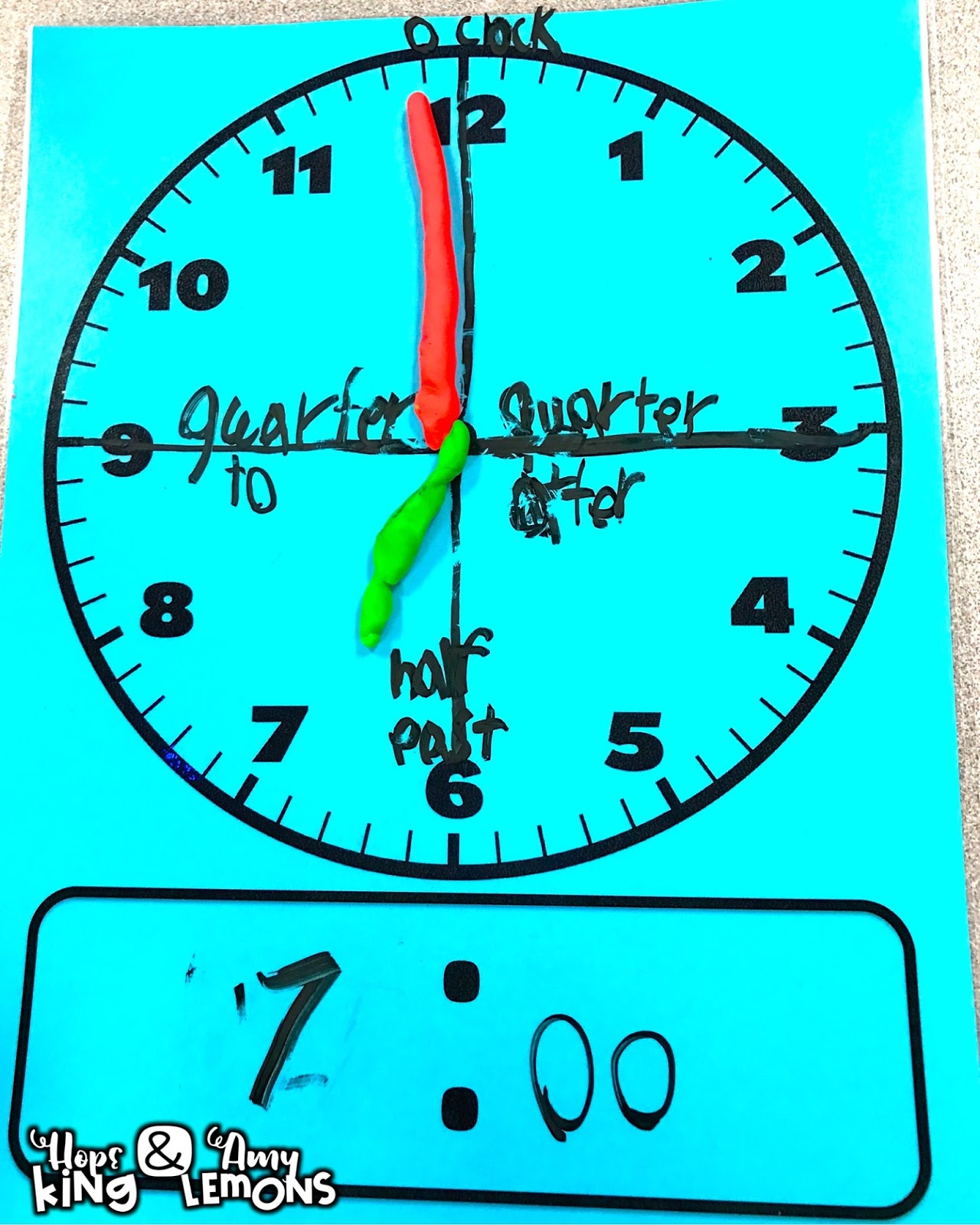 Telling Time Activities | Step into 2nd Grade with Mrs. Lemons ...