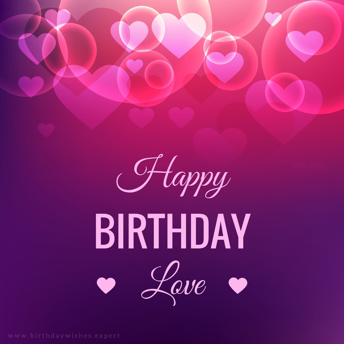 Happy Birthday Wishes For Girlfriend with Images - TrendsInf