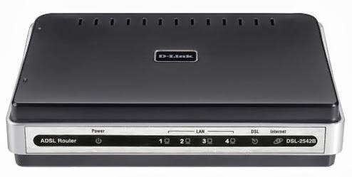 Modem Speedy ADSL2+ Router D-Link DSL-2542B