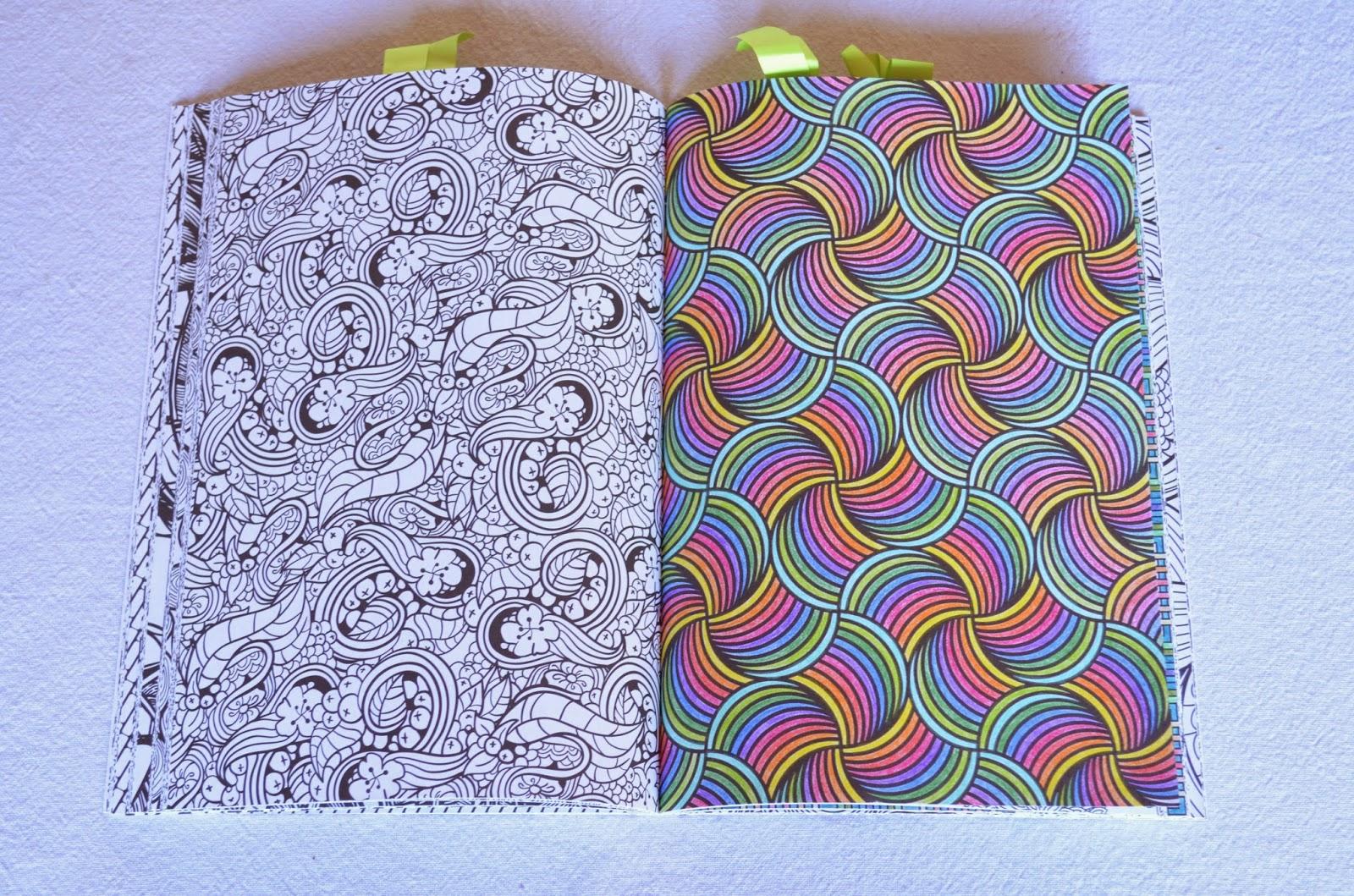 Kleurplaten Volwassenen Ingekleurd.Kleurvitality Nessy S Artwork Kleurboeken Review