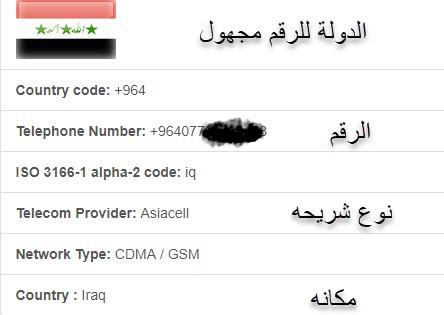 معرفة اسم متصل,معرفة أسم المتصل ومكانه,لمعرفة اسم المتصل بدون برنامج,كشف هوية المتصل