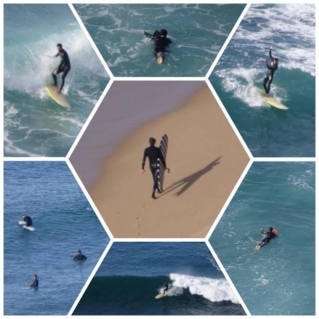 Surf em Ribeira de Ilhas - Ericeira