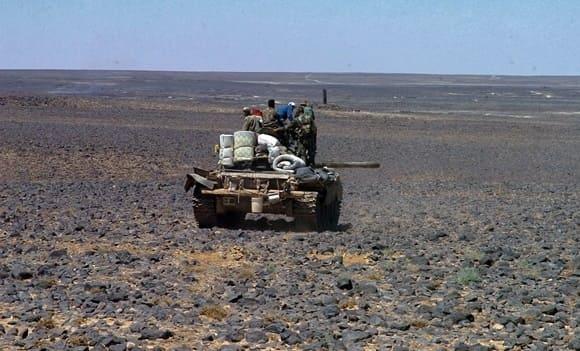 الجيش يسيطر على مساحات جديدة على أطراف تلول الصفا بريف السويداء.