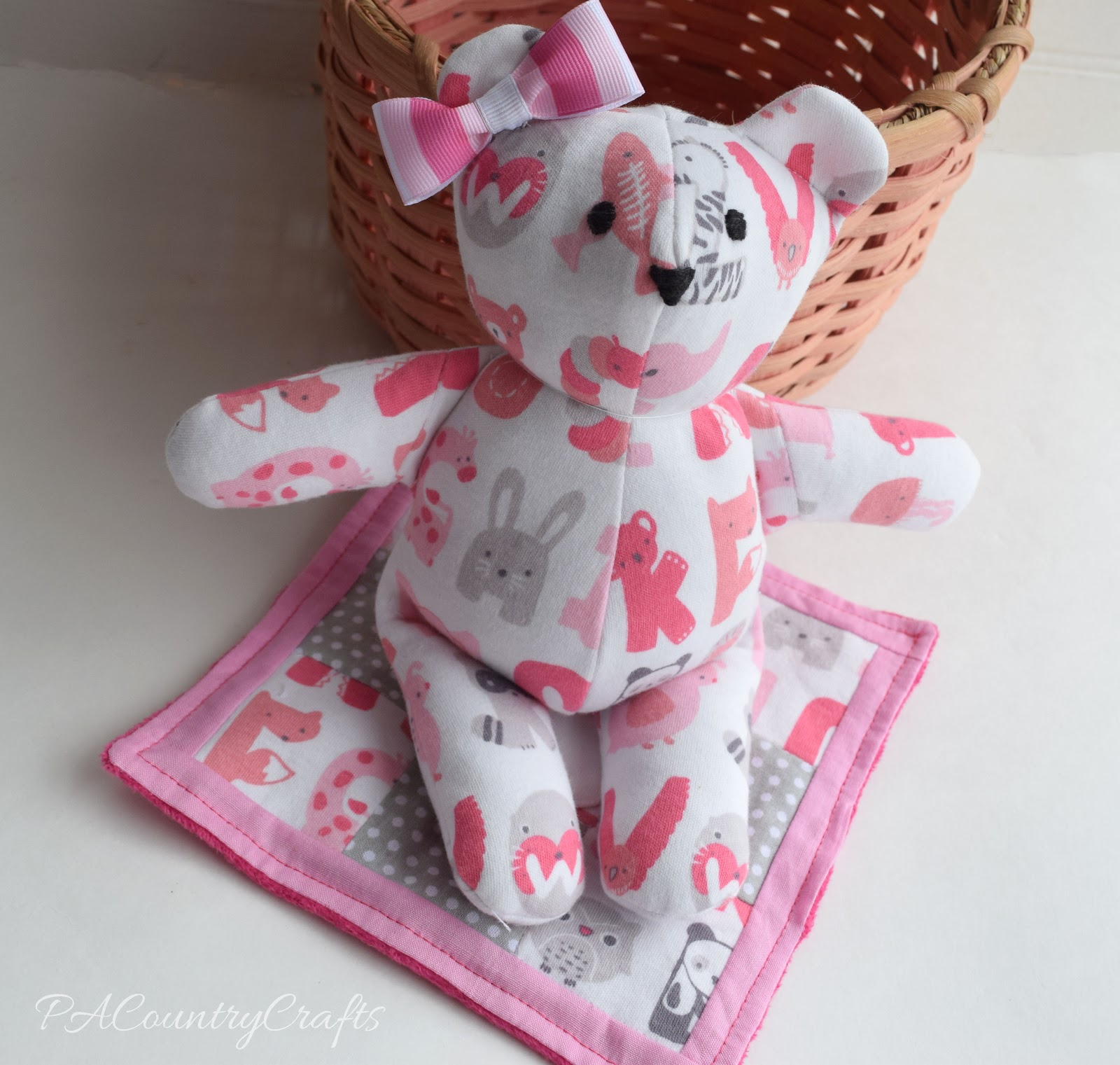 Use Baby's Going Home From The Hospital Outfit To Make A Memory Bear And  Blanket